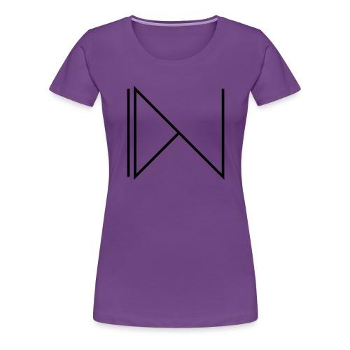 Icon on sleeve - Vrouwen Premium T-shirt