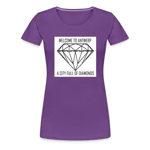 Antwerp lover - Vrouwen Premium T-shirt