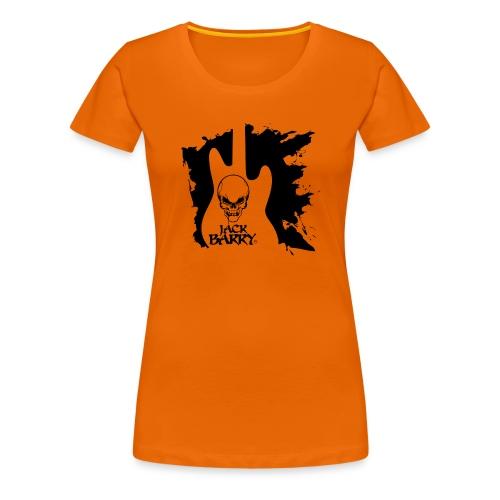 Jack Barry Skull 5 - Maglietta Premium da donna