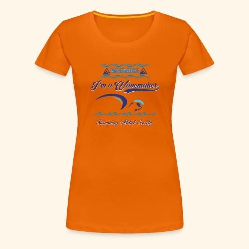 Wavemaker - Maglietta Premium da donna