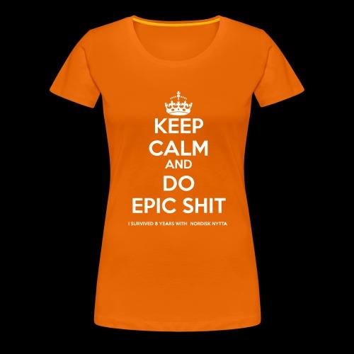 NORDISK NYTTA - Premium-T-shirt dam