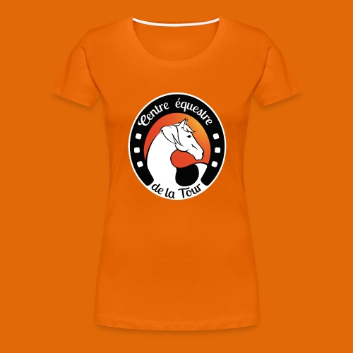 Centre Equestre de la Tour - T-shirt Premium Femme
