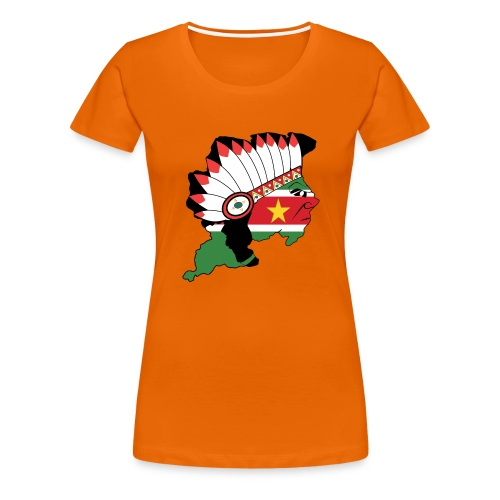 Suriname - Vrouwen Premium T-shirt