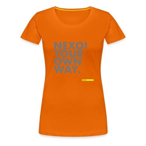Backpack Newman collection - Women's Premium T-Shirt