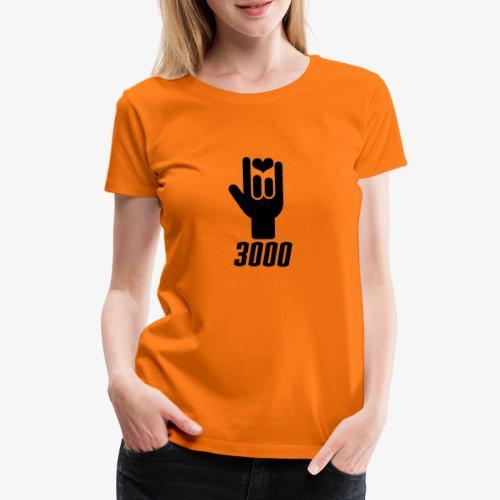 I Love You 3000 - Women's Premium T-Shirt