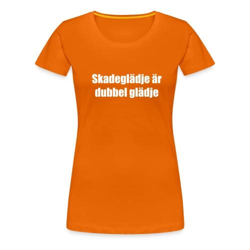 skadeglädje - Women's Premium T-Shirt