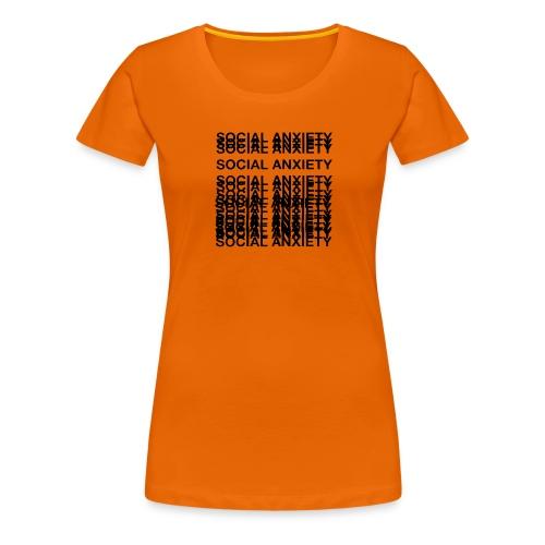 anxiety amazon logo - Women's Premium T-Shirt