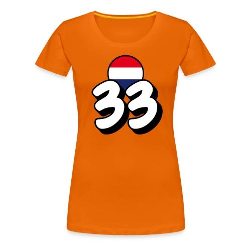 33_DutchFlag - Vrouwen Premium T-shirt