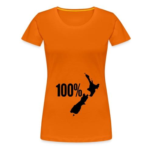 100 NZ - Women's Premium T-Shirt