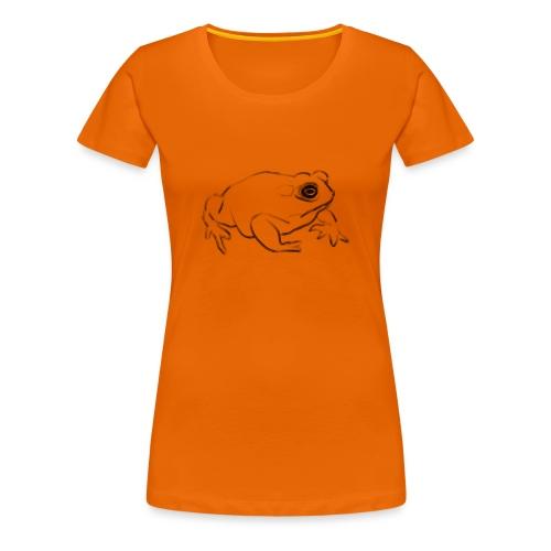 Frog - Women's Premium T-Shirt