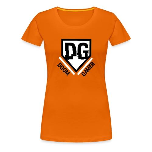 Doomgamer rugzak v2.0 - Vrouwen Premium T-shirt