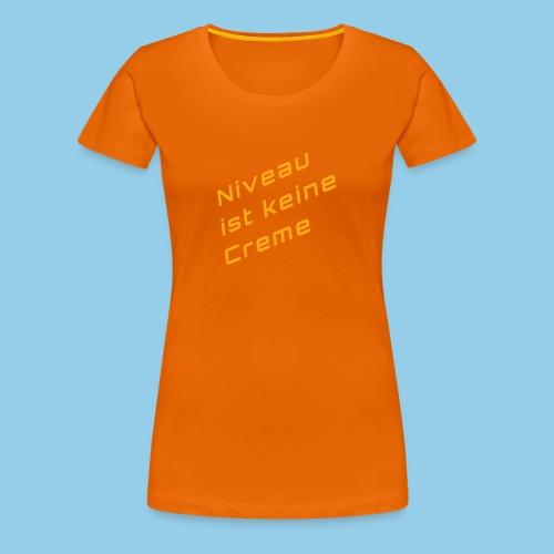level - Women's Premium T-Shirt
