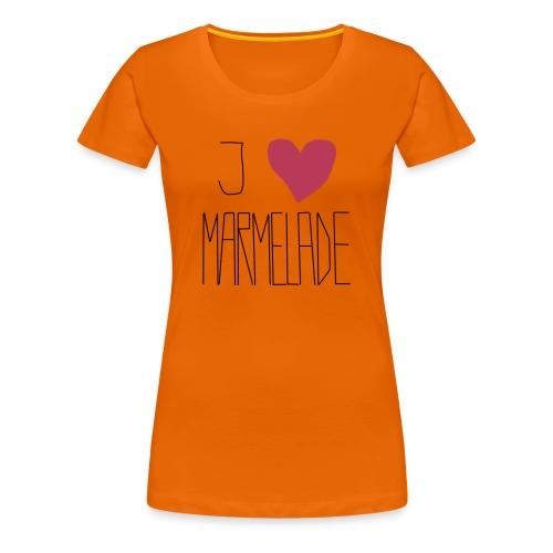 Marmeladenliebe - Frauen Premium T-Shirt