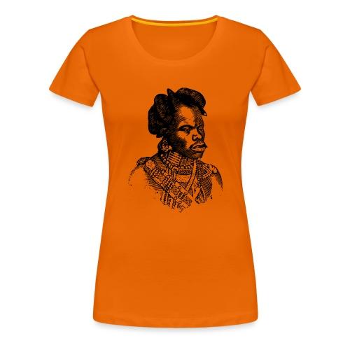 zulu man png - T-shirt Premium Femme
