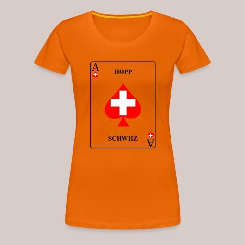 Schweiz - Frauen Premium T-Shirt