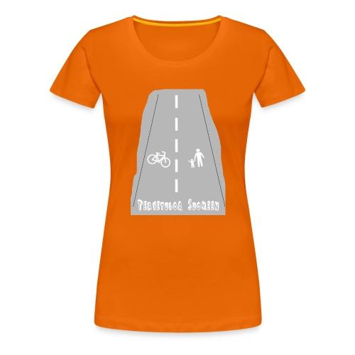 Tervetuloa Suomeen - Naisten premium t-paita