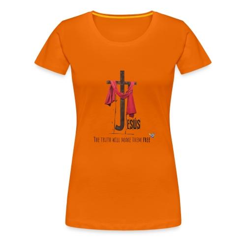 religion jesus - Camiseta premium mujer
