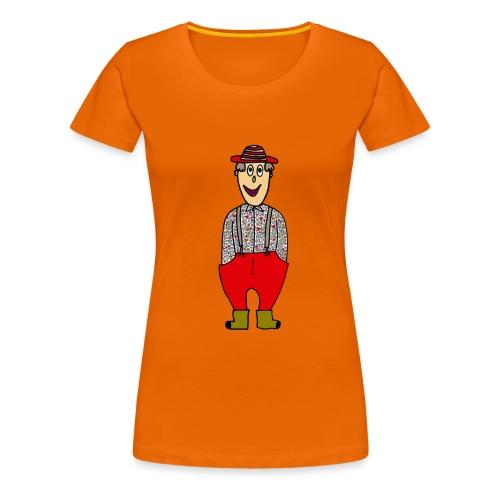 granjero - Camiseta premium mujer