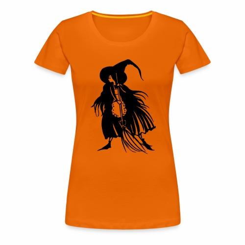 Sorcière balai - T-shirt Premium Femme