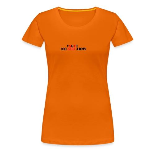 100 sibs - Women's Premium T-Shirt