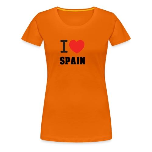 I love spain - Camiseta premium mujer