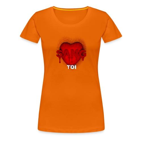 SANG TOI - T-shirt Premium Femme