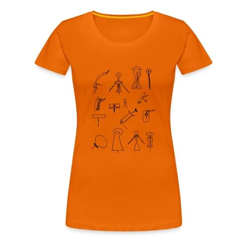 abridores - Camiseta premium mujer