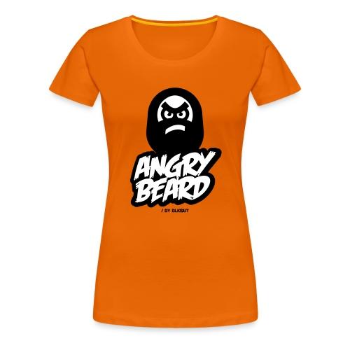 ANGRY BEARD - Koszulka damska Premium
