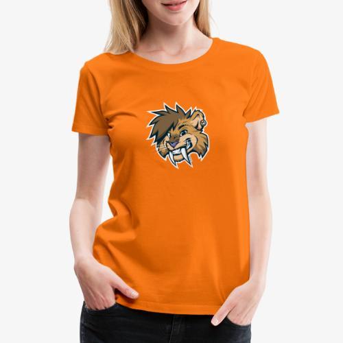 Smile-odon! Orange Transparent - Frauen Premium T-Shirt