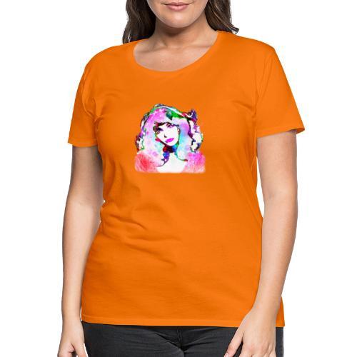Painted Kate - Frauen Premium T-Shirt