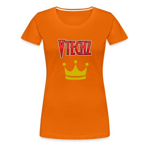Vtechz King - Women's Premium T-Shirt