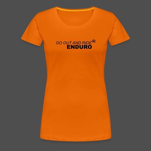wyjdź i jedź enduro bk - Koszulka damska Premium