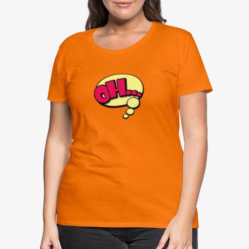 Serie Animados - Camiseta premium mujer
