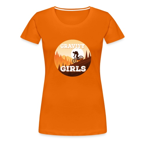 Gravity Girls Clothing Co - Women's Premium T-Shirt