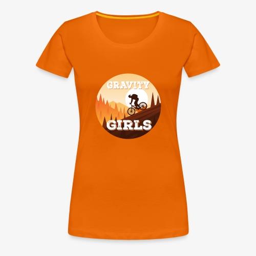 Gravity Girls Clothing Co - Women's Premium T-Shirt