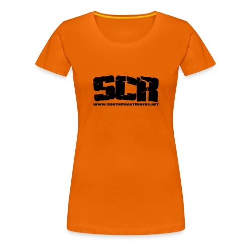 SCR LOGO - Women's Premium T-Shirt