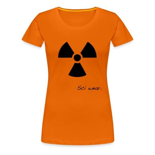 Radioactive Mug - Women's Premium T-Shirt