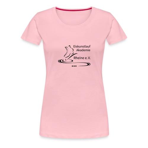 EARheine Logo schwarz - Frauen Premium T-Shirt