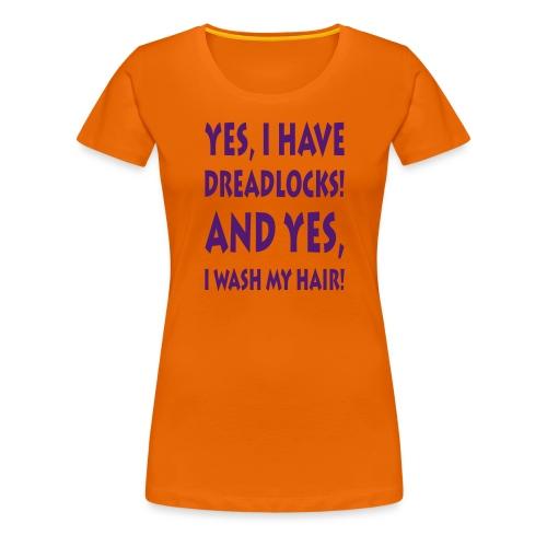 Dreadlocks / Filzlocken - Frauen Premium T-Shirt