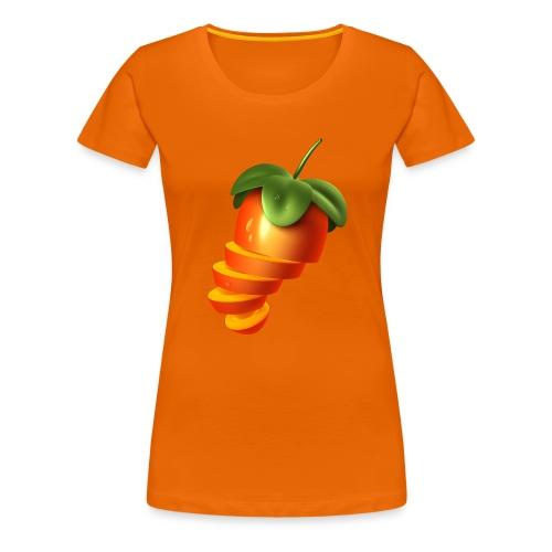Sliced Sweaty Fruit - Women's Premium T-Shirt
