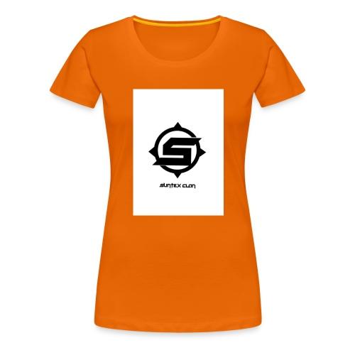 Syntex Clan - Premium-T-shirt dam