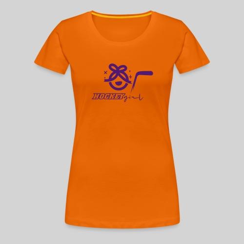 Hockey Girl II - Frauen Premium T-Shirt