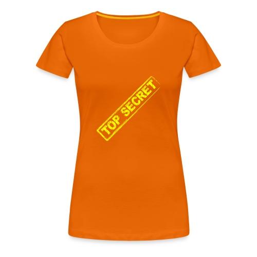 Top Secret - Camiseta premium mujer