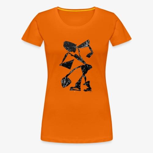 Monotype-print/figure-34 - Women's Premium T-Shirt
