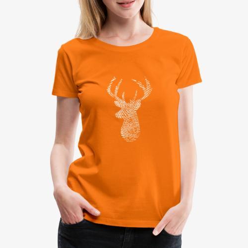Cerf de Roosevelt - T-shirt Premium Femme