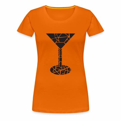 Martini Cocktail Glas - Frauen Premium T-Shirt