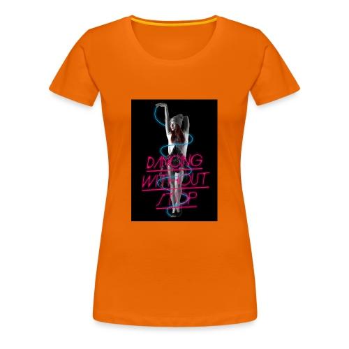 dancing woman - Camiseta premium mujer