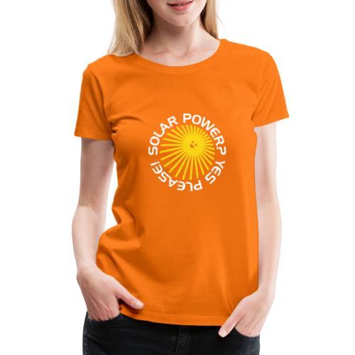 BD Solar Power - Frauen Premium T-Shirt