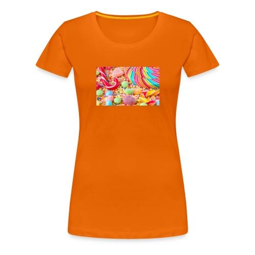 snoep afdruk/print - Vrouwen Premium T-shirt