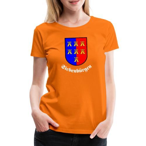 Siebenbürger-Sachsen Wappen Siebenbürgen - Frauen Premium T-Shirt